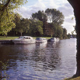 abingdonflod thames uk Royaltyfri Fotografi