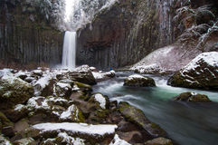 Water Fall Winter Royalty Free Stock Photos