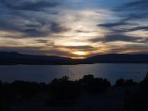 Abiquiu湖 免版税库存图片