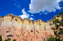 Abiquiu Cliffs Georgia OKeefe Country Royalty Free Stock Images