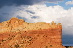 Abiquiu Rock Formation Stock Photo
