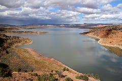 Abiquiu sjö Royaltyfri Fotografi