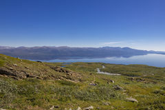 Abisko Nationaal Park in Zweden royalty-vrije stock foto's