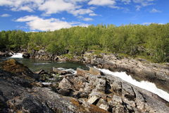 Abisko National Park Royalty Free Stock Photography