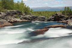 Abisko National Park Stock Photo