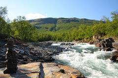 Abisko National Park Royalty Free Stock Image
