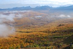 Abisko National park in autumn Royalty Free Stock Photos