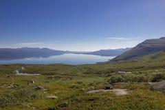 Abisko nationalpark i Sverige Fotografering för Bildbyråer