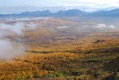 Abisko Nationalpark im Herbst Lizenzfreie Stockfotos