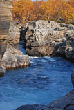 abiskokanjonflod sweden Royaltyfri Fotografi