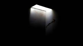 Abismo de luz Immagini Stock