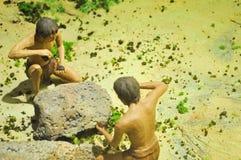 Abitante di caverna Immagini Stock Libere da Diritti