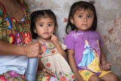 Abitanti di Valladolid, Messico fotografia stock libera da diritti