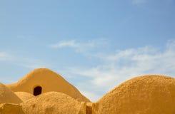 Abitazione del ` s della gente antica nell'Iran Fotografia Stock Libera da Diritti