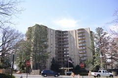 Abitazione dell'appartamento in un grattacielo Fotografia Stock