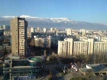 Abitazione della periferia della città di Sofia Fotografia Stock