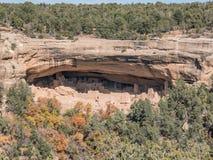 Abitazioni di Mesa Verde in Colorado Fotografie Stock Libere da Diritti