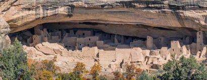Abitazioni di Mesa Verde in Colorado Fotografia Stock Libera da Diritti