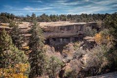 Abitazioni di Mesa Verde in Colorado Immagini Stock