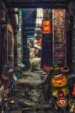 Abitazioni tradizionali a Luoyang immagini stock libere da diritti