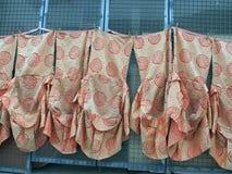 Abiti di stile del kimono fotografia stock