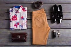 Abito & accessori Fotografie Stock