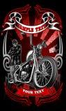 Abito dei motociclisti Immagini Stock Libere da Diritti