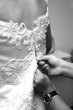 Abito di cerimonia nuziale Fotografia Stock