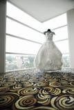 Abito di nozze immagini stock
