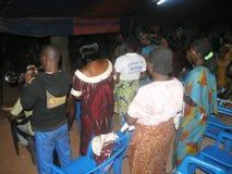 Abitudine africana di akan in paese Immagine Stock Libera da Diritti