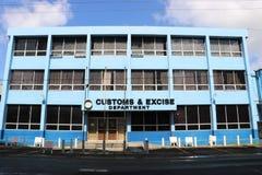 Abitudini e dipartimento di imposte indirette, Santa Lucia fotografie stock libere da diritti