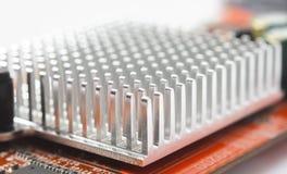 Abkühlender Heizkörper des elektronischen Geräts Lizenzfreie Stockbilder