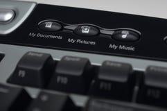 Abkürzungs-Schlüssel auf Tastatur Stockfotografie