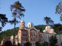 abkhazia afonkloster 2007 nya oktober Arkivfoto