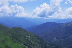 Abkhazia duże krajobrazowe halne góry obraz royalty free