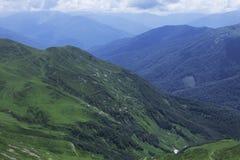 Abkhazia duże krajobrazowe halne góry fotografia royalty free