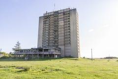 abkhazia förstörde huset Arkivbilder