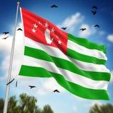 abkhazia flag Стоковые Изображения RF