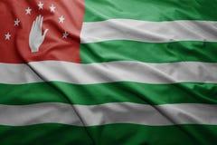 abkhazia flag Arkivbild