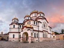Abkhazia New Athos Monastery Stock Photos
