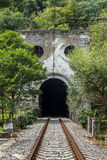 Abkhazia. New Athos. Old railway. Abkhazia. An old railway tunnel in New Athos Stock Photo