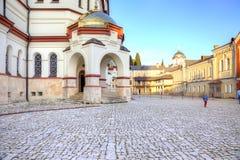 Abkhazia Nowy Athos Simon gorliwa monaster Obrazy Stock