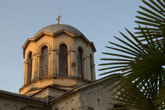 Abkhazia. Sukhumi Cathedral. Royalty Free Stock Image
