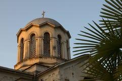Abkhazia. Sukhumi Cathedral. royalty free stock image