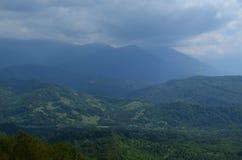 Abkhazian bergen Royalty-vrije Stock Foto's
