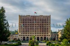 Abkhazian parlament, Sokhumi Fotografering för Bildbyråer