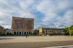 Abkhazian parlament, Sokhumi Arkivbilder