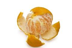 The Abkhazian tangerine. On white background Stock Photography