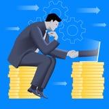 Abkommen über Internet-Geschäftskonzept vektor abbildung