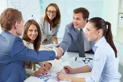 Abkommen Lizenzfreies Stockfoto